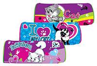 "Пенал-косметичка ""My cute cat"",Кошечки,3 вида(6шт/уп)(WL-7114)"