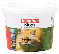 Витамины Беафар для котов Китис таурин+биотин №750
