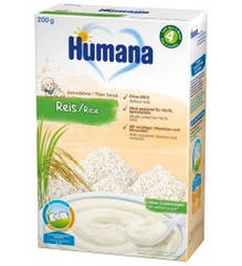 Безмолочна каша Humana рисова 200 гр.