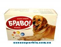 Витамины Браво №100 для собак больших пород Артериум