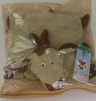 """Подушка-складушка """"Коза"""", в сумке 45*40см(900855)"""