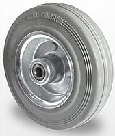 Колесо сіра резина без кронштейна діаметр 80 мм Німеччина