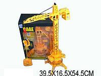 Строительный кран батар. р/у, в кор. 39,5*16,5*54,5 см (12шт)(6806A)