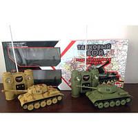 Танковый бой, р/у, аккум., пульт на бат., в кор. 51*22*10см (12 шт.)(50620)