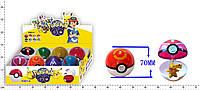 """Фигурка """"Pokemon Go"""", ловушка-шарик, 7см, ЦЕНА ЗА УП., В УП. 8ШТ, в кор. 28*14*7см (72уп/576шт)(BT-PG-0001)"""