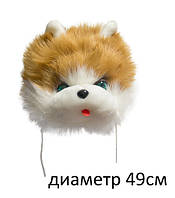 Шапочка кота коричневая, ТМ Золушка Украина(235КОР)