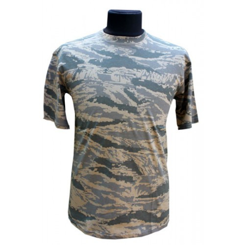 Камуфляжная футболка  ABU digital tiger АБУ тигр