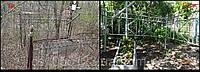 Покраска памятника и оградки захоронений в г.Днепропетровске