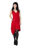 Вечернее платье, 42-44, красный