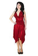 Клубное платье с лазерным напылением, 42-44