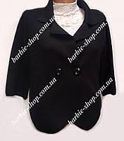Черный пиджак-болеро для женщин 5891
