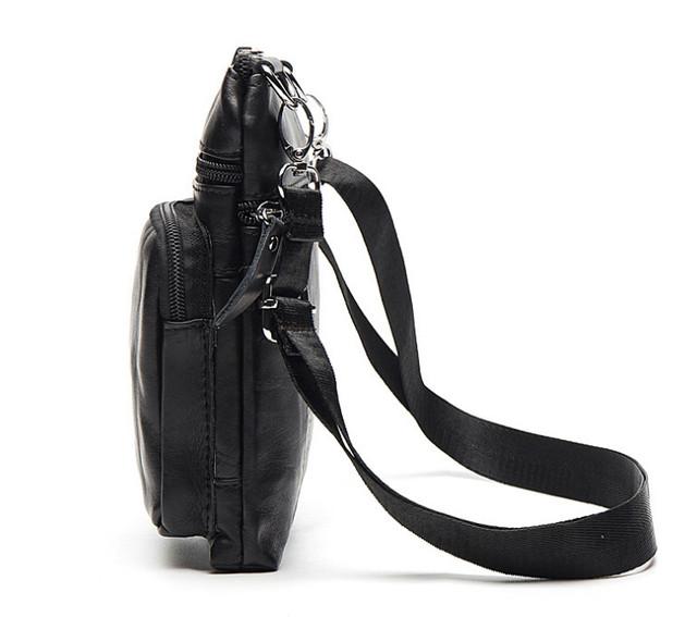 Мужская кожаная мини-сумка Marrant | вид сбоку