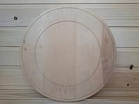 Деревянная тарелка 29 см для росписи и декупажа