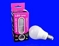 Светодиодная лампа Nakamichi A60 5WT 3000K E27