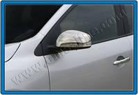 Накладки на ручки Renault Megane HB 3D Coupe (2010-) 2-дверн.- с отверс. под сенсор нерж. Omsa