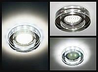 Точечный светильник Feron 8080-2 с LED подсветкой