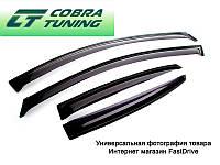Дефлекторы окон, ветровики MITSUBISHI Pajero III 5d 1999-2006, IV 5d 2006- Cobra Евростандарт