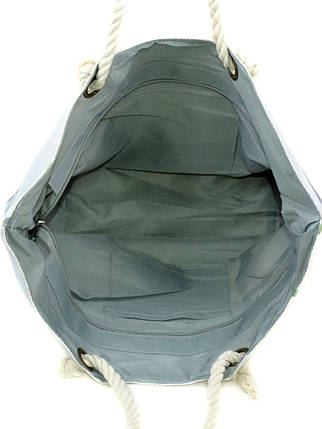 Сумка Женская Пляжная текстиль Podium PC 9140-1 dark-brown печать, фото 2