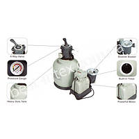 Intex 28644 (8,5 кг. - 4500 л/ч.) Песочный фильтр-насос, фото 1