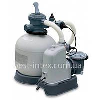 Intex 28682 Фильтрующий насос с песочным фильтром и хлор-генератором
