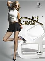 Колготы GATTA NASTY 15 ден (черный, телесный) (2; 3; 4)