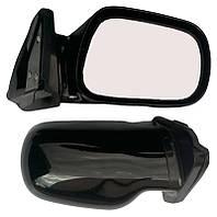 Зеркала ВАЗ 2101, 2106 черные удлиненные
