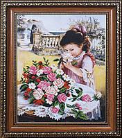 Набор для вышивания бисером Маленькая леди