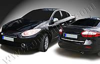 Нижняя кромка багажника Renault Fluence (2010-) (нерж.)