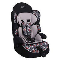 Детское авто кресло SIGER ART ДРАЙВ алфавит, 1-12 лет, 9-36 кг, группа 1-2-3