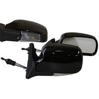 Зеркала ВАЗ 2109, 2113-2115 черные широкие с поворотником