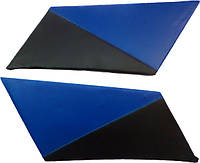 Накладки задних стоек Лопухи ВАЗ 2101 - 2107 синие