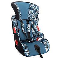 Детское авто кресло SIGER ART КОСМО геометрия, 1-12 лет, 9-36 кг, группа 1-2-3