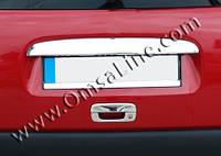 Накладка над номером Citroen Berlingo (1996-2008) Однодверный нерж. Omsa