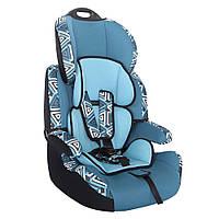 Детское авто кресло SIGER ART Стар геометрия, 1-12 лет, 9-36 кг, группа 1-2-3