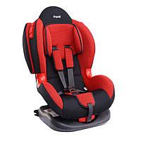 Детское авто кресло SIGER КОКОН Изофикс группа 1-2 (красный)