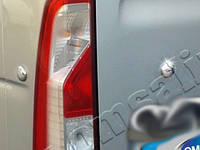 Заглушки крышки багажника Nissan NV400 (2010-) (нерж.) 4 шт.
