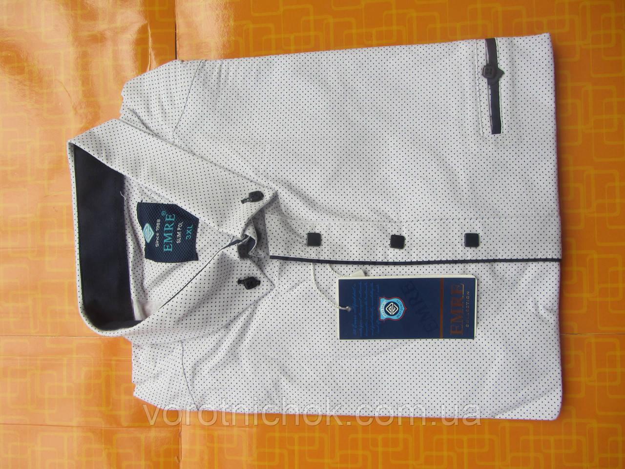 Мужская рубашка Emre - короткий рукав