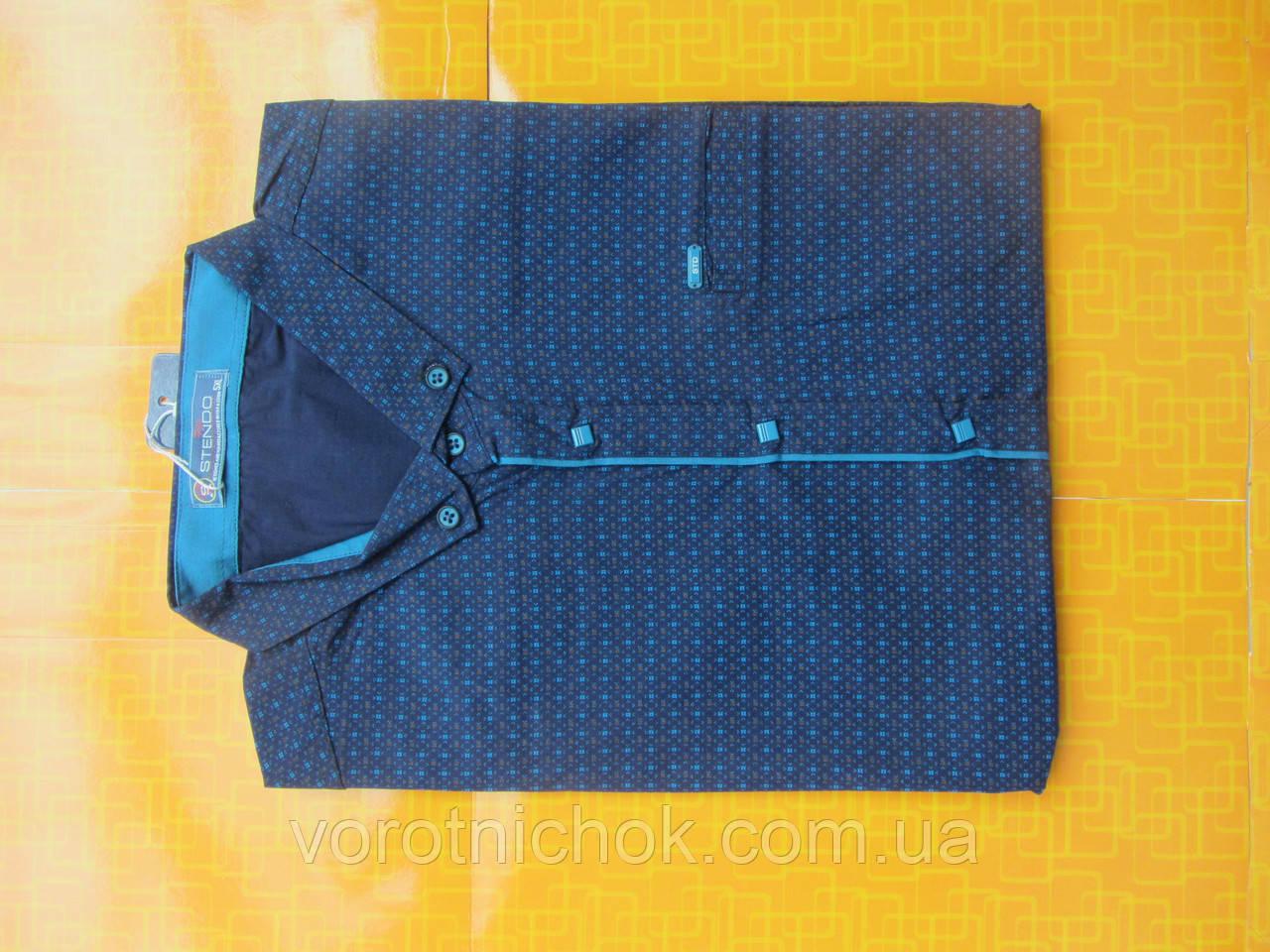 Мужская рубашка Stendo - короткий рукав