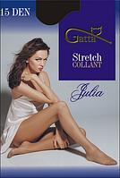 Колготы GATTA  JULIA Stretch 15 ден (черный, телесный, бежевый, бронзовый, серый) (2; 3; 4)