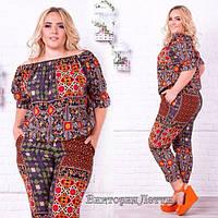 Костюм женский с укороченными брюками в Украине. Сравнить цены ... 67357fa23c122