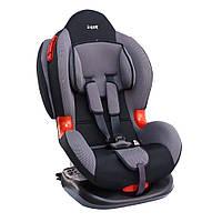 Детское авто кресло SIGER КОКОН Изофикс группа 1-2 (серый)