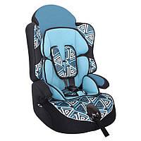 Детское авто кресло SIGER ART ДРАЙВ геометрия, 1-12 лет, 9-36 кг, группа 1-2-3