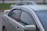 Дефлекторы окон, ветровики MITSUBISHI LANCER X (Sd, Hb) 2007- Cobra