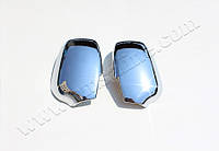 Накладки на зеркала Ford Fusion (2006-2012) (Abs хром.) 2 шт.(без повтор.поворота) Omsa