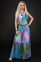 Платье шифоновое мод 303-1,размер 44,46