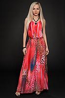 Платье шифоновое мод 303-2, размер 44,46
