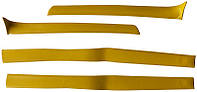 Накладки стоек передние ВАЗ 2101 - 2107 желтые