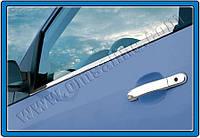 Накладки на ручки Ford Fiesta 3D (2002-2009) 2 нерж. Omsa