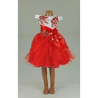 Платье нарядное красное  3-5 лет Dina33