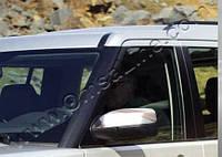 Накладки на зеркала Land Rover Discovery II (1999-2004) (нерж.) 2 шт- Omsa